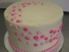 anniversary and bridal shower cakes